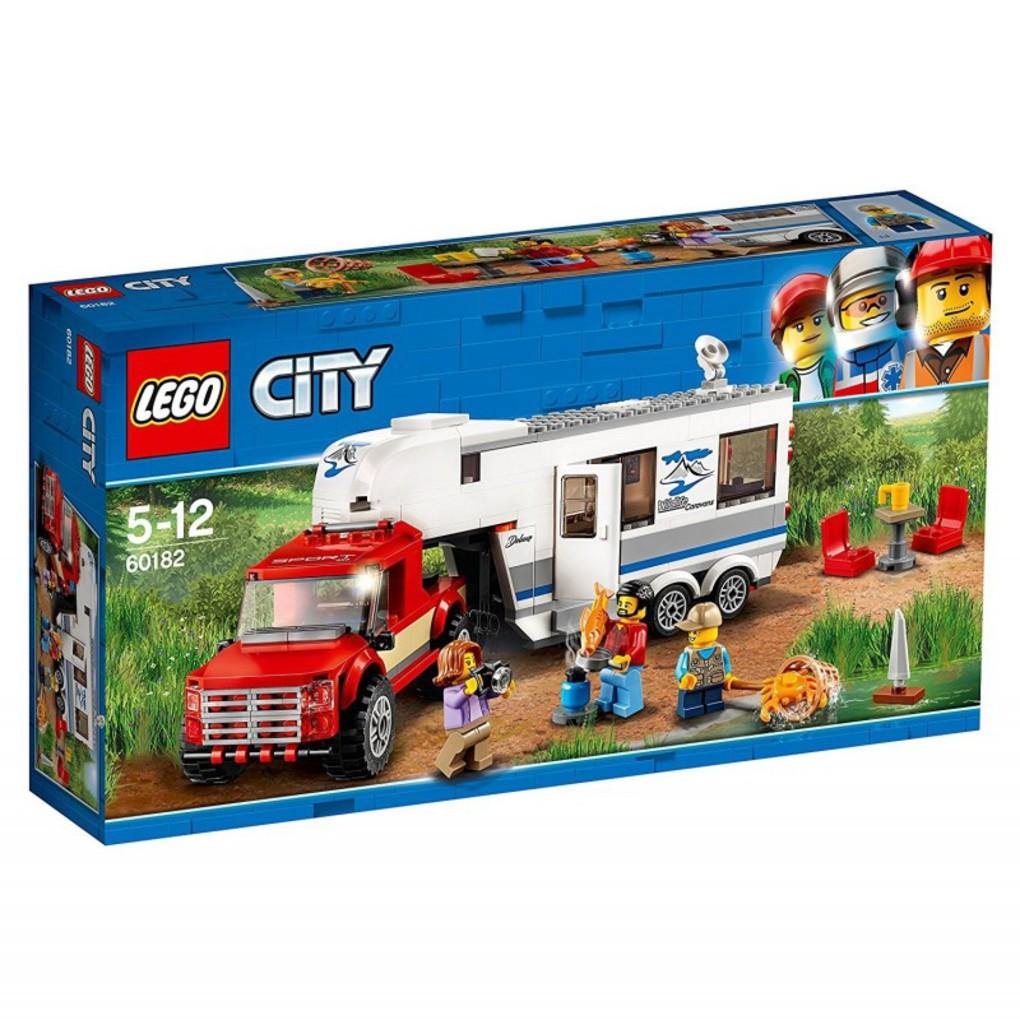 LEGO CITY ΗΜΙΦΟΡΤΗΓΟ ΚΑΙ ΤΡΟΧΟΣΠΙΤΟ