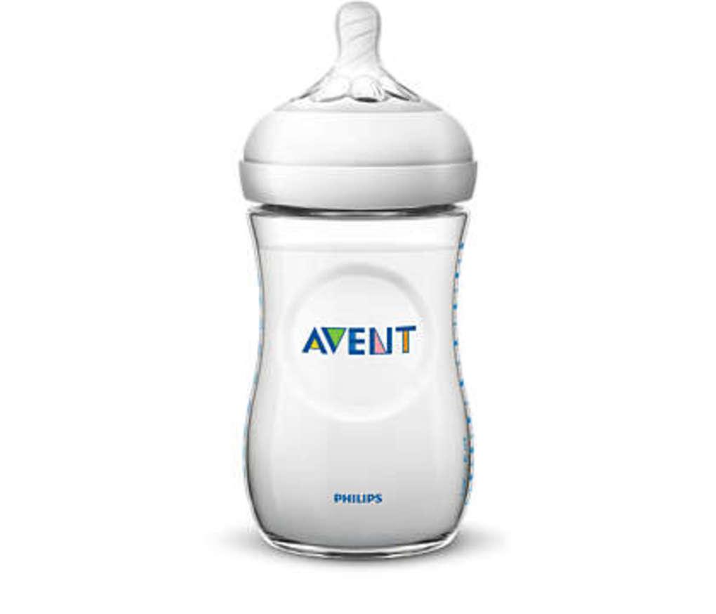 Philips-Avent Πλαστικό μπιμπερό Natural 260 ml 1μ+