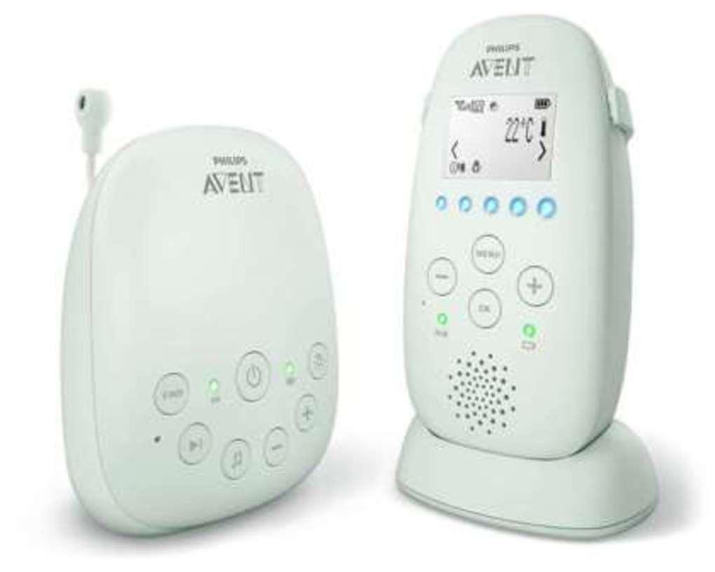 Philips - Avent Ενδοεπικοινωνία Dect SCD721/26