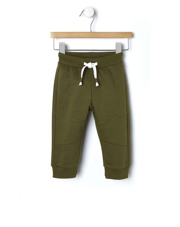 Παντελόνι Φόρμας Basic Πράσινο για Αγόρι
