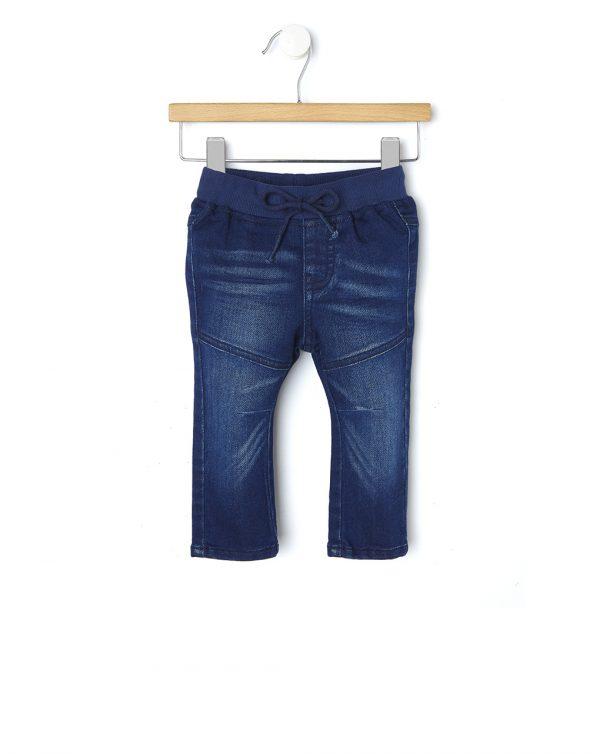 Παντελόνι Denim Σκούρο Μπλε για Αγόρι