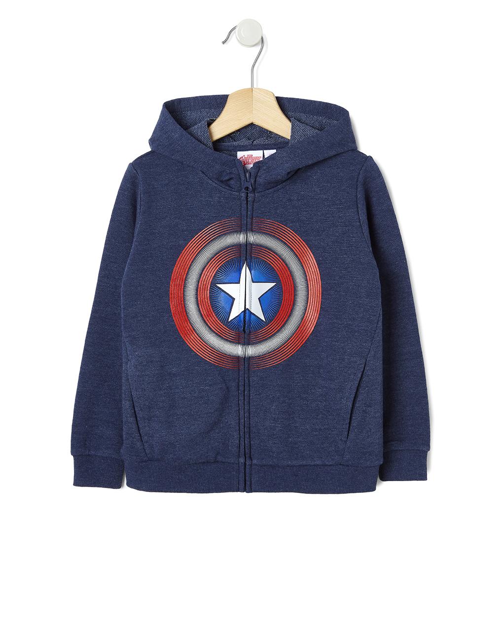 Ζακέτα Φόρμας Captain America για Αγόρι