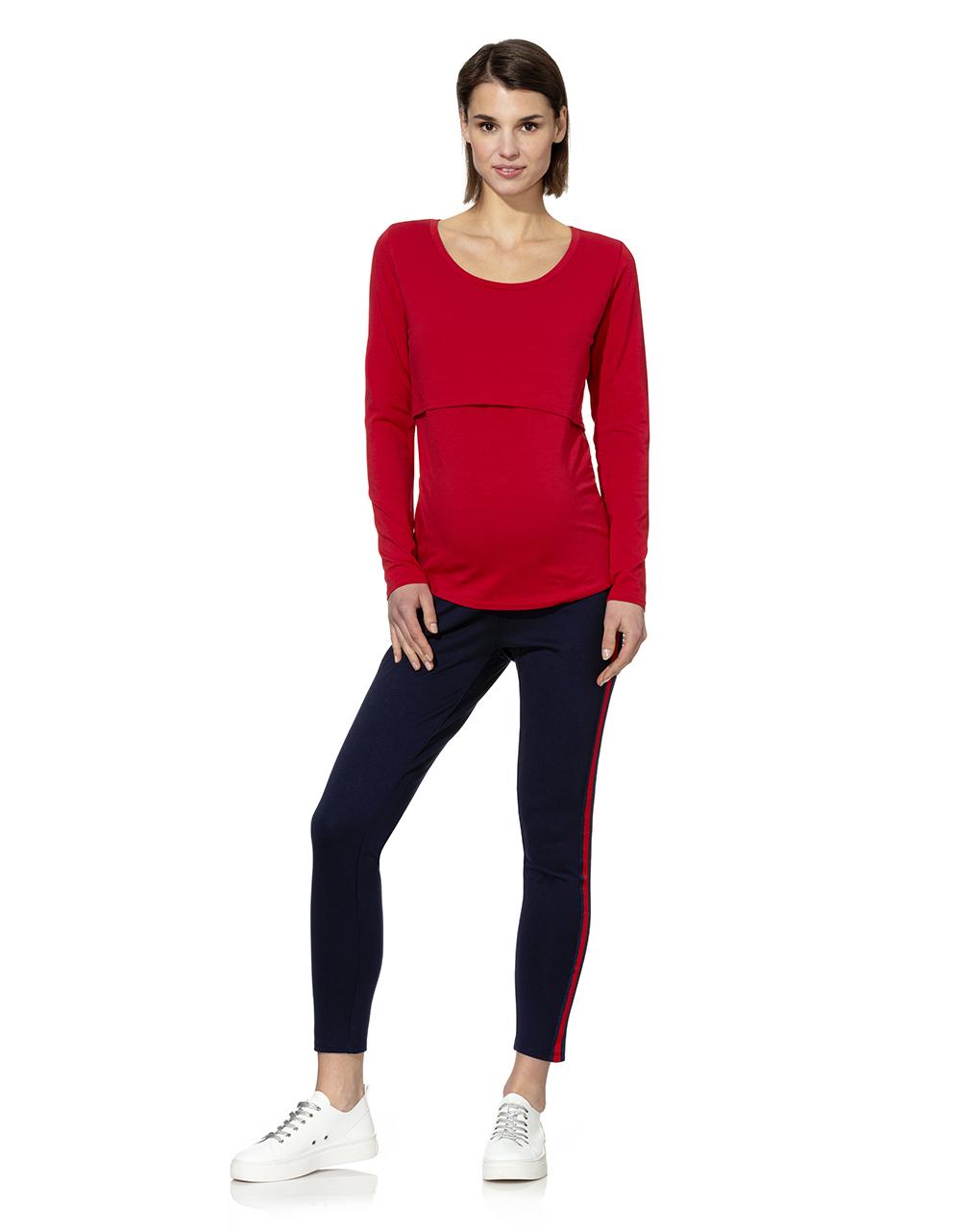 Γυναικεία Μπλούζα Θηλασμού Κόκκινη