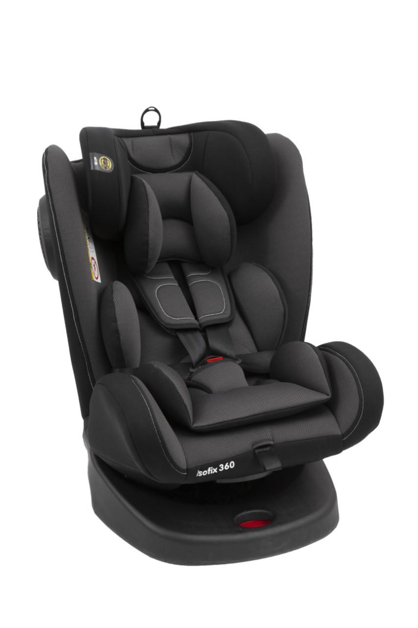Giorani Κάθισμα Αυτοκινήτου OBERON ΟΜ. 0+/1-2-3 Μαύρο