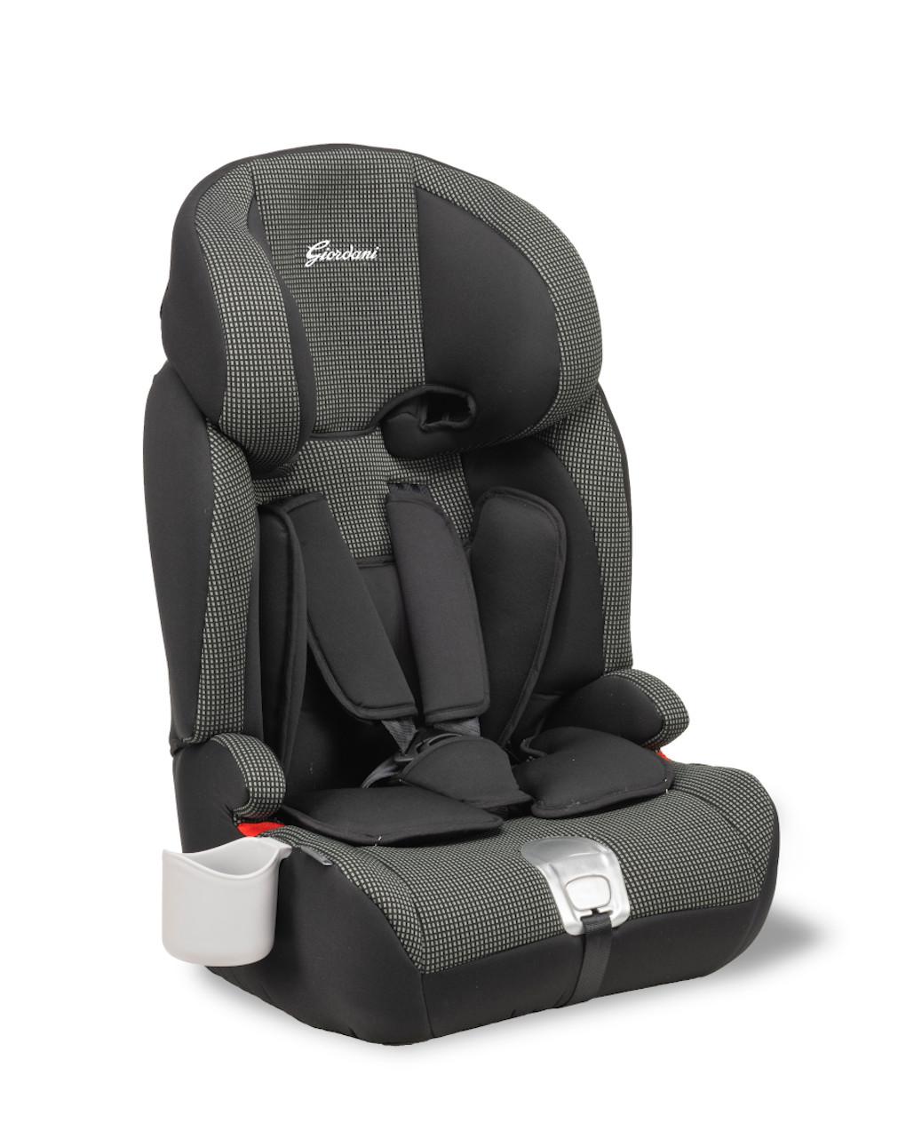 Giordani Κάθισμα Αυτοκινήτου  PEGASUS 2.0  ΟΜ.1-2-3 Μαύρο