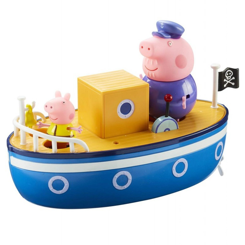 Peppa Pig Tο Καράβι Του Παππού Γουρουνάκη