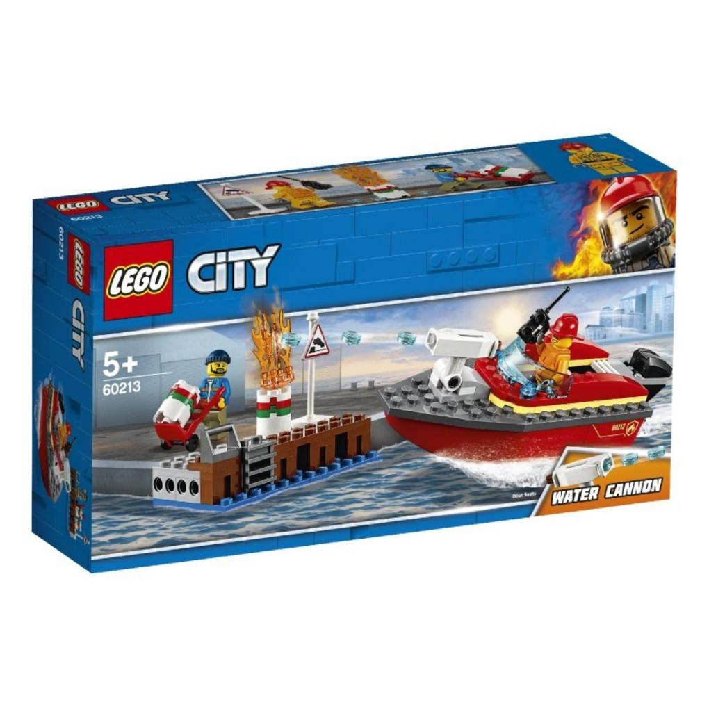 LEGO City Πυρκαγιά Στην Αποβάθρα