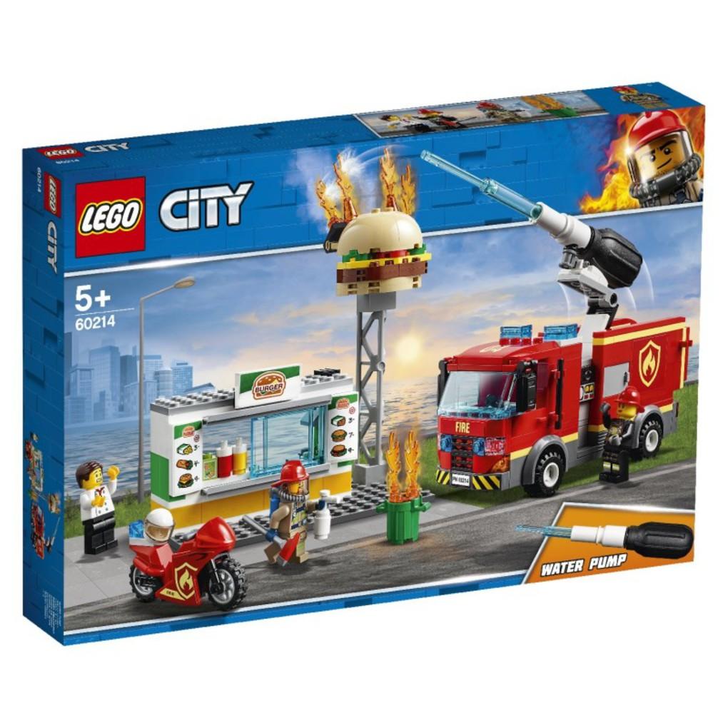 LEGO City Διάσωση Από Την Πυρκαγιά Στο Μπέργκερ Μπαρ