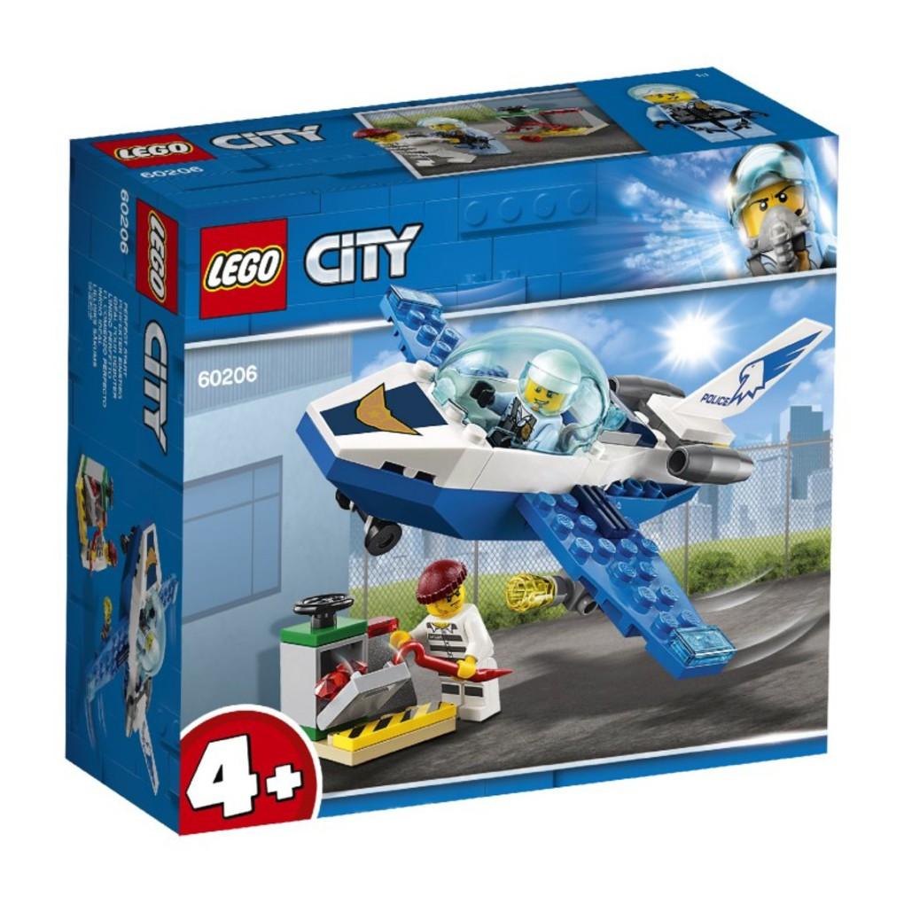 LEGO City Περιπολία Με Τζετ Της Εναέριας Αστυνομίας