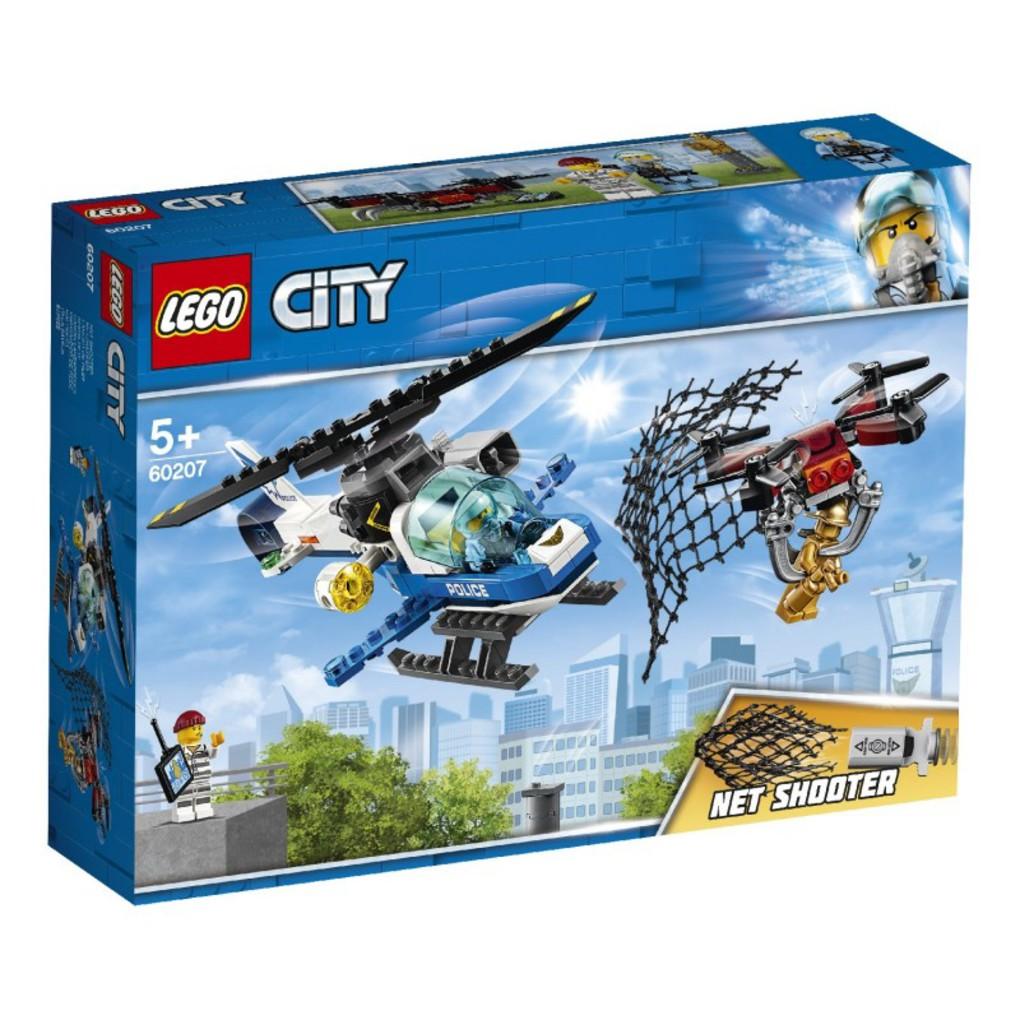 LEGO City Καταδίωξη Ντρόουν Από Την Εναέρια Αστυνομία