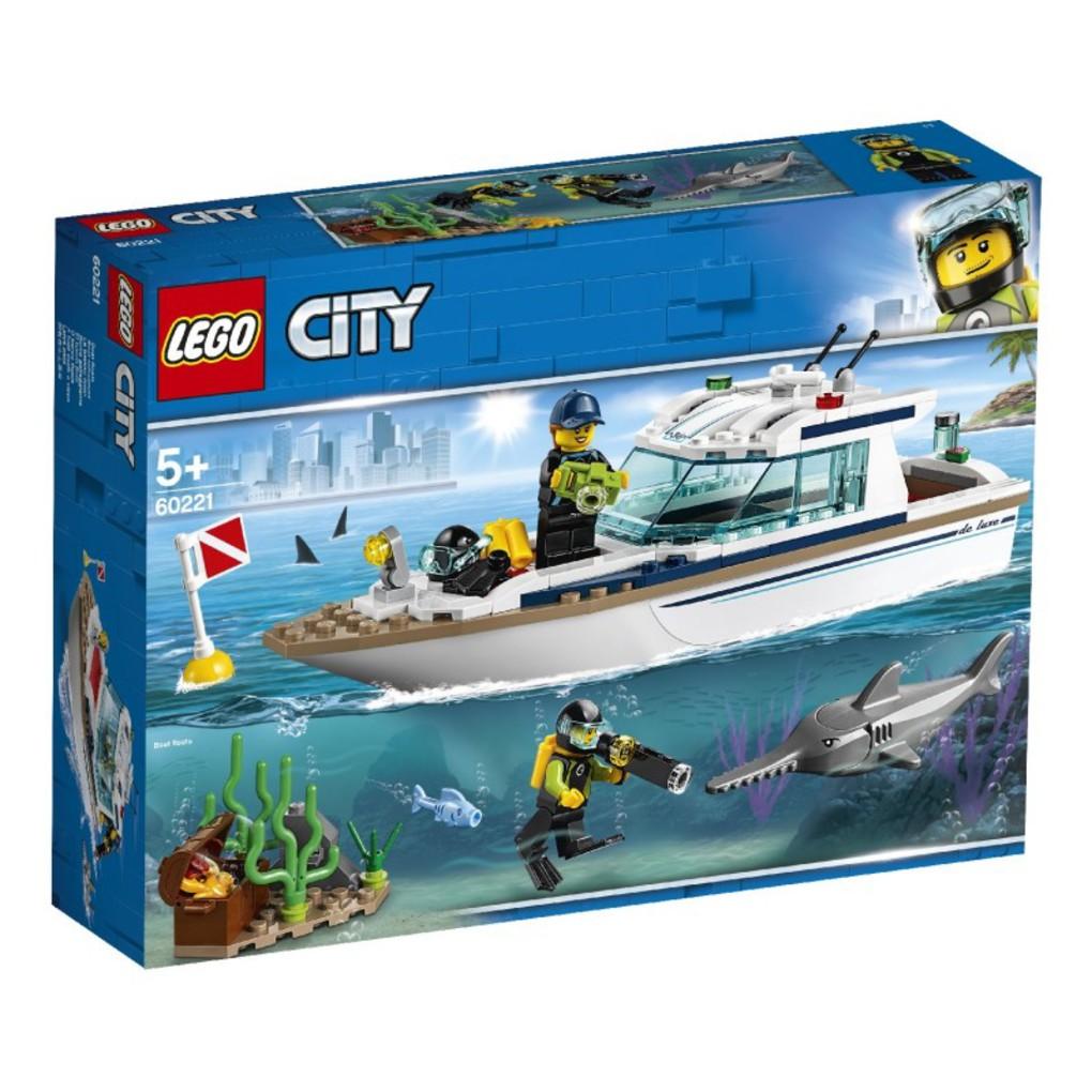 LEGO City Γιωτ Καταδύσεων
