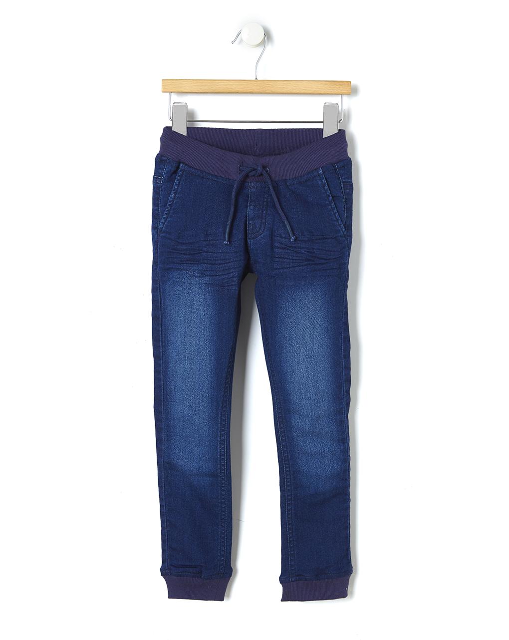 Παντελόνι Denim Μπλε Σκούρο Μεγ.8-9/9-10 Ετών για Αγόρι