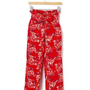 Παντελόνι από Βισκόζη Φλοράλ για Κορίτσι