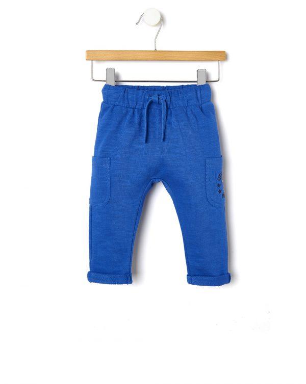 Παντελόνι με Τσέπες Μπλε για Αγόρι
