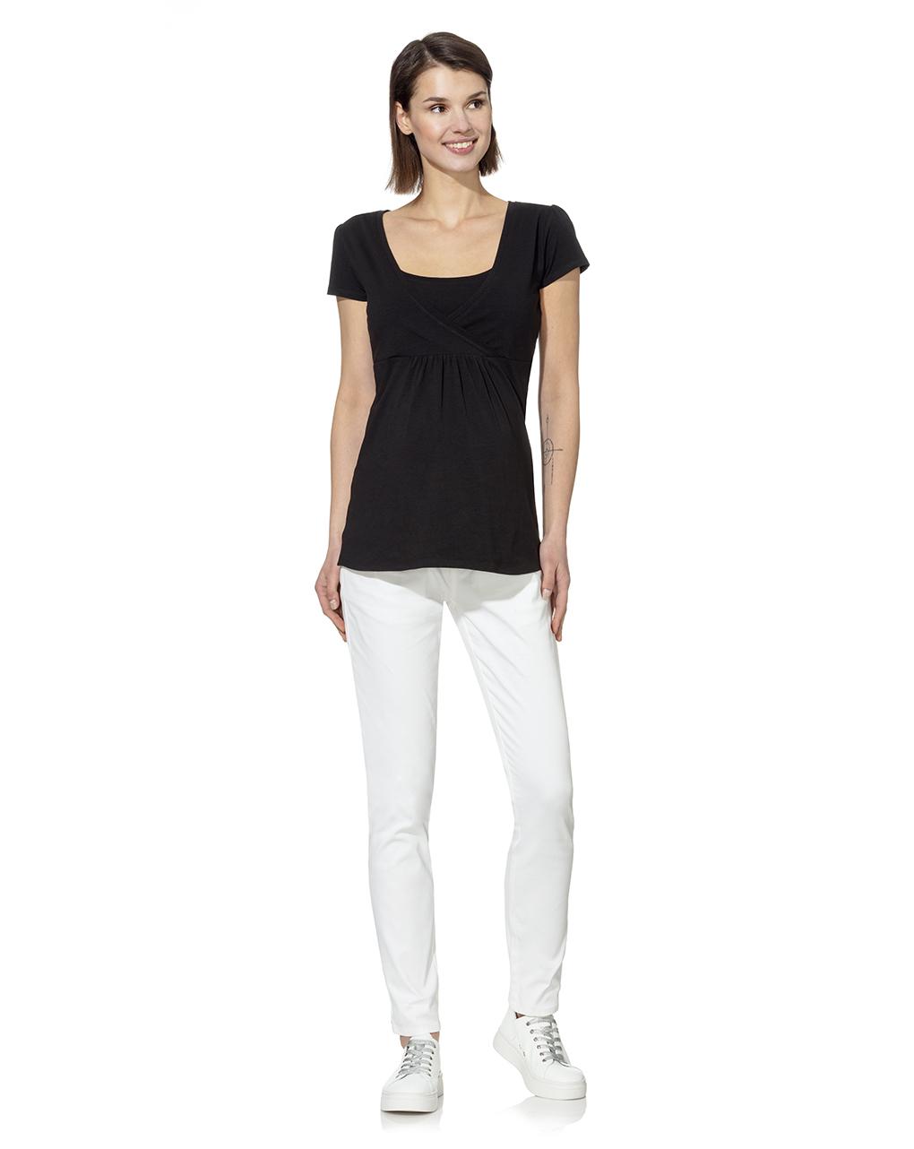 Γυναικείο T-Shirt Θηλασμού Μαύρο