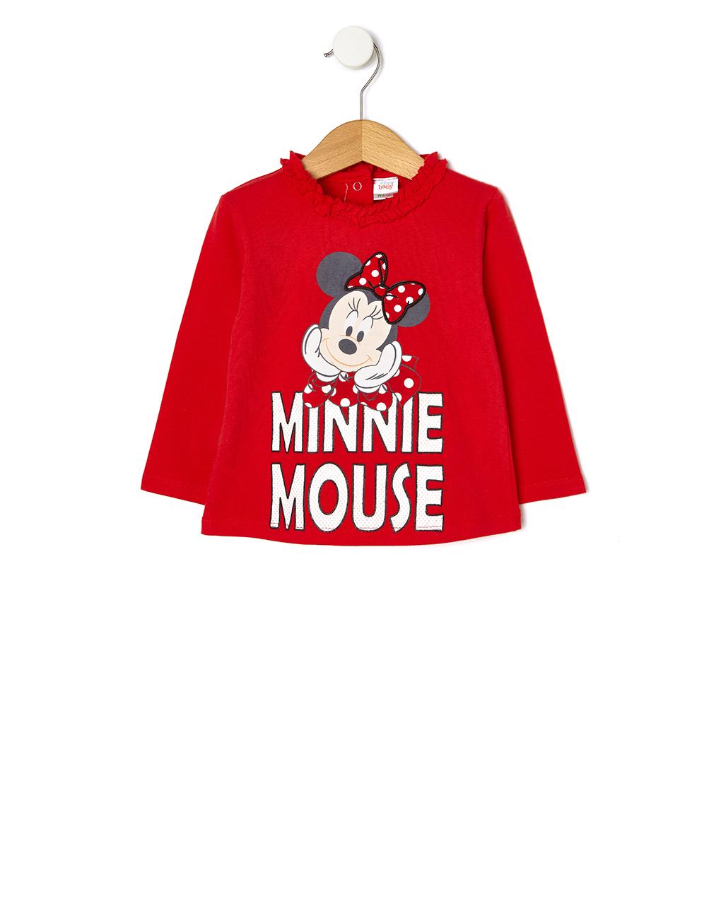 ΜπλούζαΜακρυμάνικη Jersey με Στάμπα Minnie για Κορίτσι