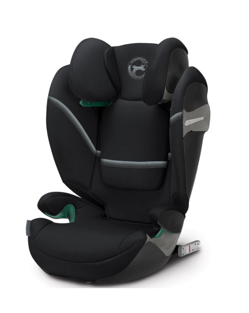 Κάθισμα αυτοκινήτου Solution S I-Fix Deep Black