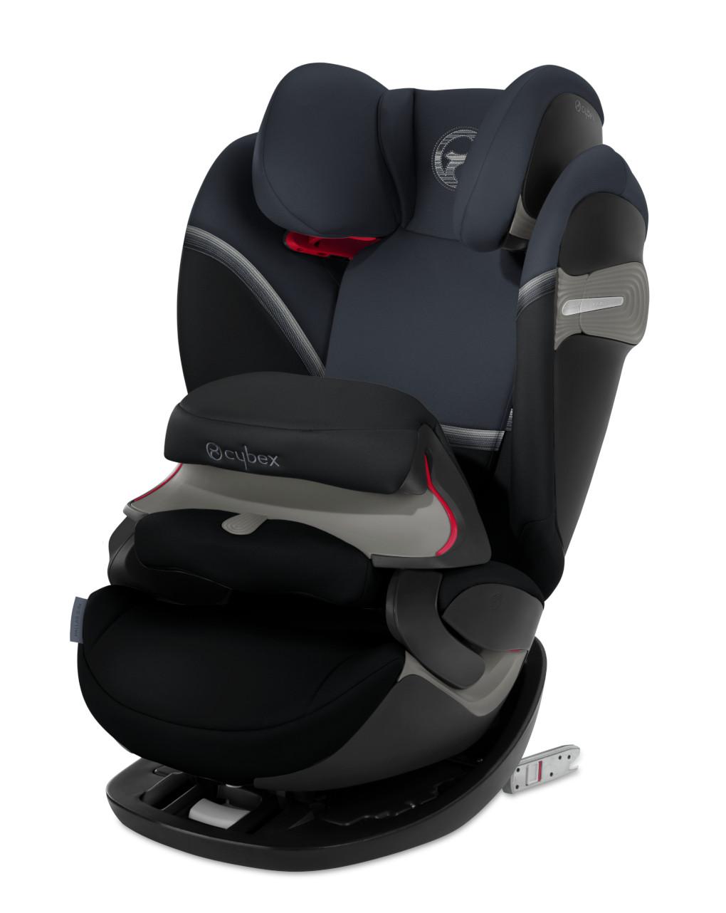Κάθισμα αυτοκινήτου Pallas S-Fix Granite Black