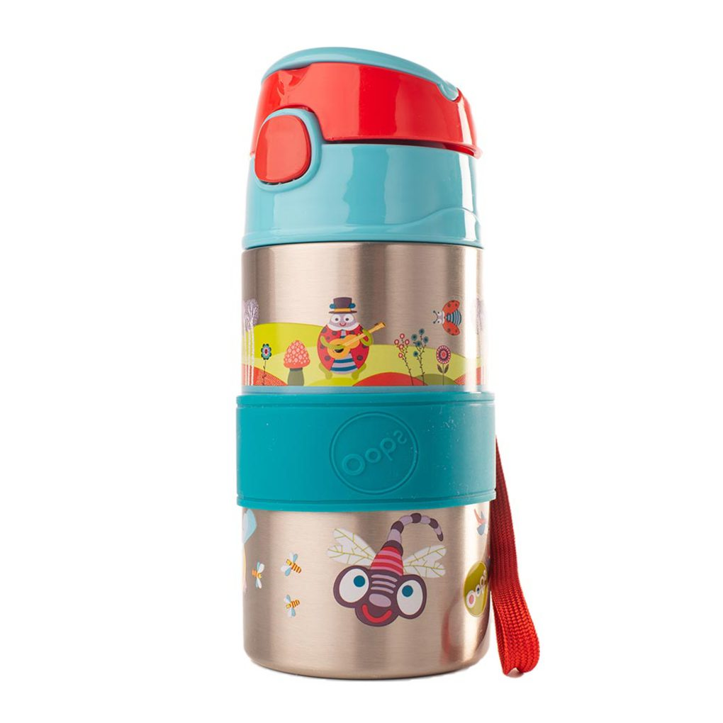 Ανοξείδωτο Παγούρι Chic Stainless Steel Bottle Small World