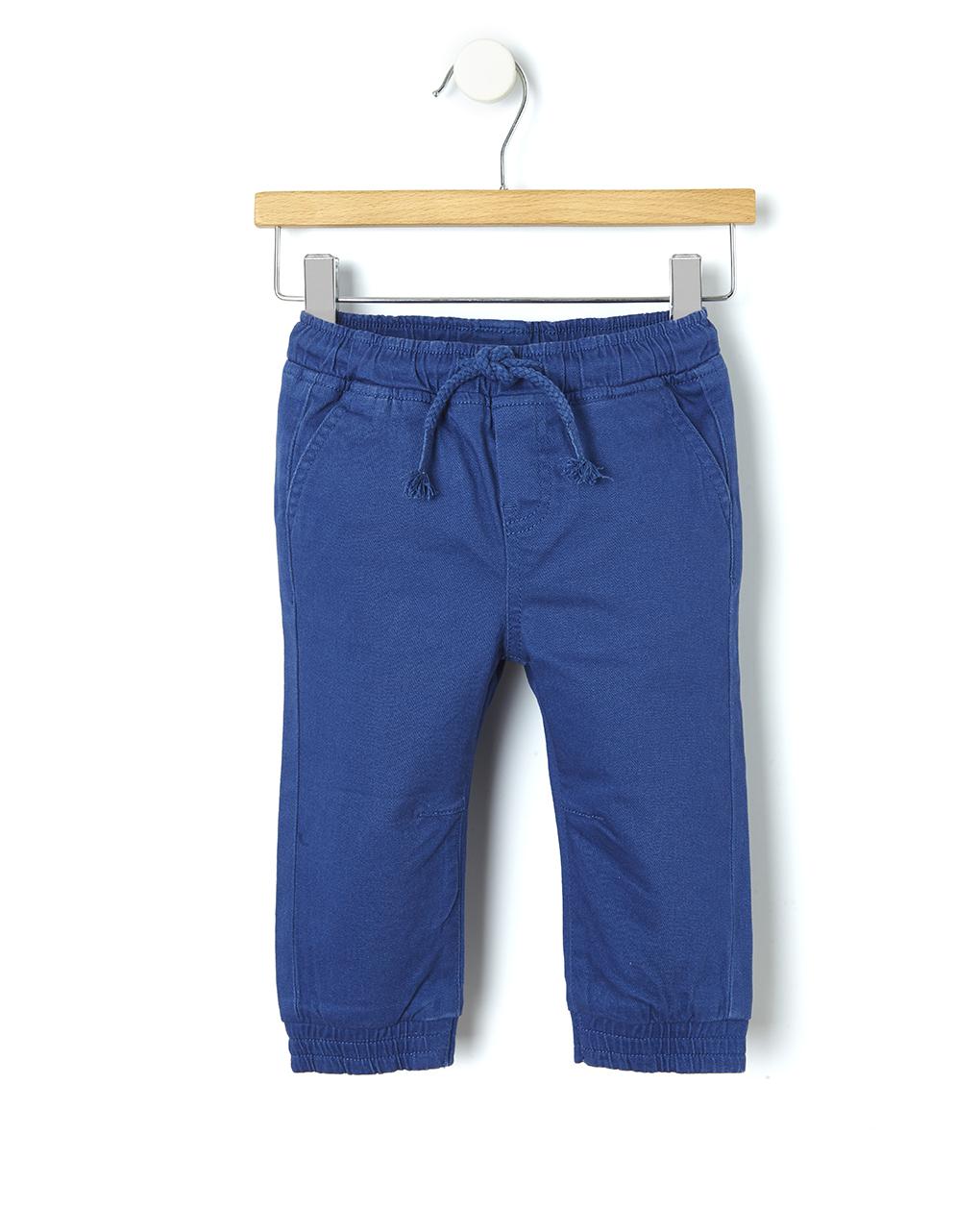 Παντελόνι Twill Μπλε για Αγόρι
