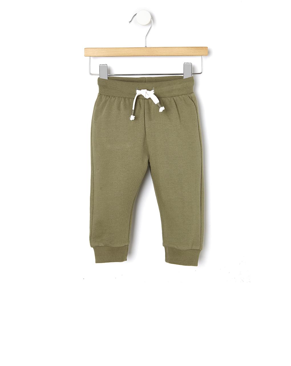 Παντελόνι Φόρμας Basic Χακί για Αγόρι