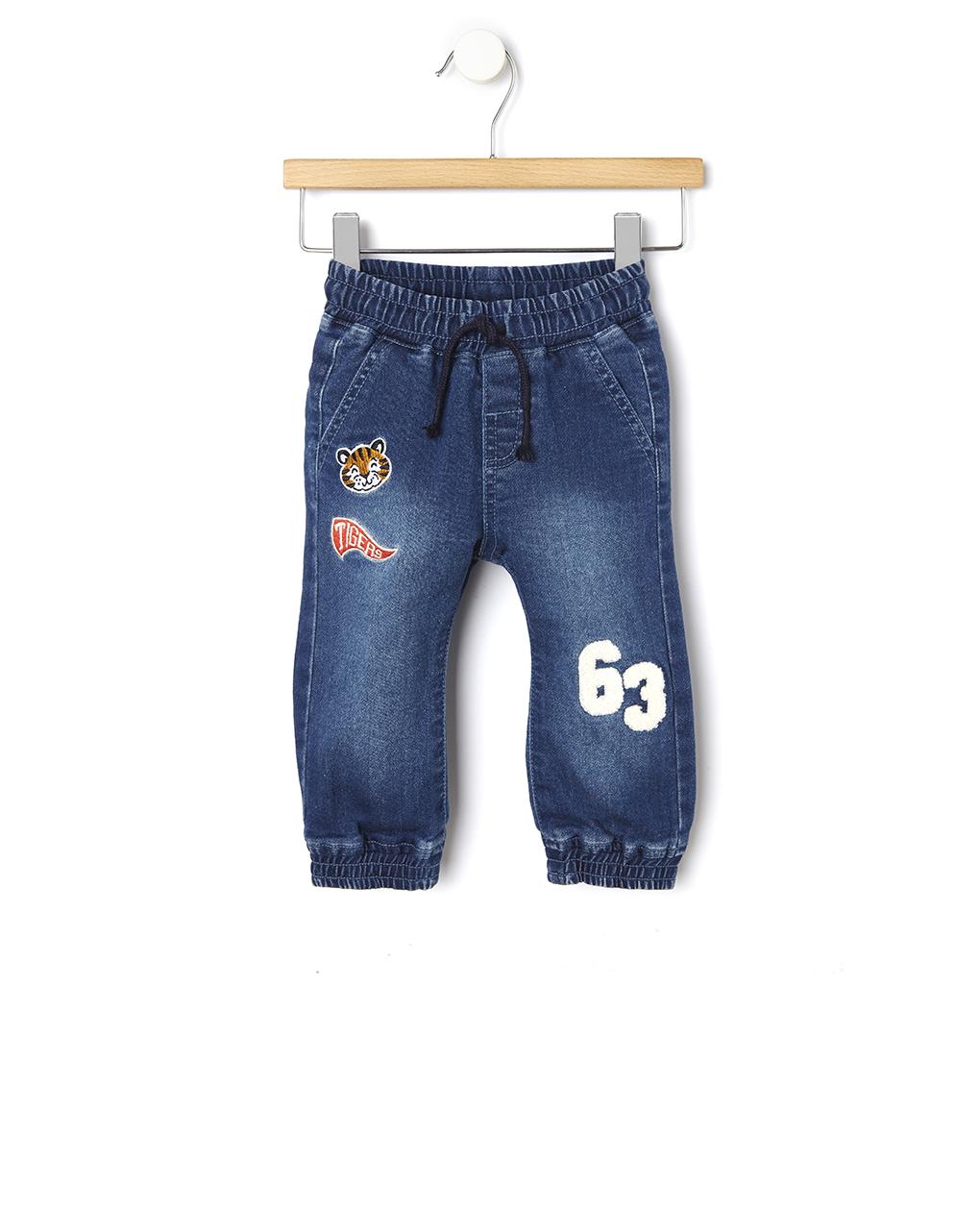 Παντελόνι Denim με Κεντήματα για Αγόρι