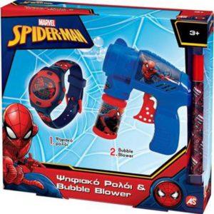 ΛΑΜΠΑΔΑ ΡΟΛΟΪ ΚΑΙ BUBBLE GUN SPIDERMAN