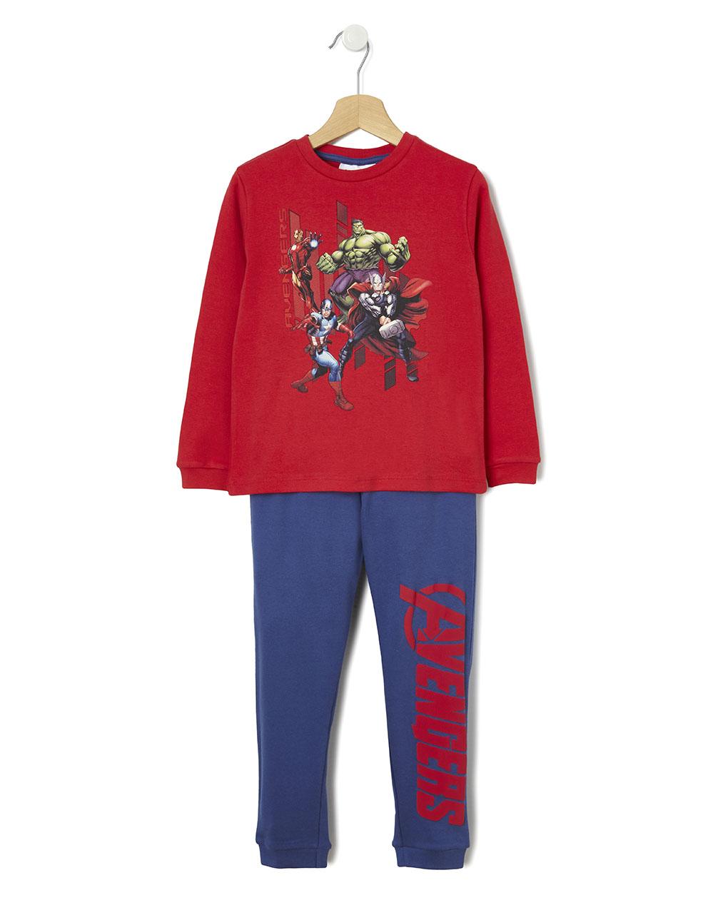Πιτζάμες με στάμπα Avengers για Αγόρι