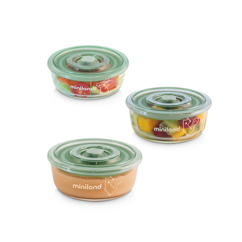 Σετ Φαγητού 3 Τεμάχια Naturround Chip