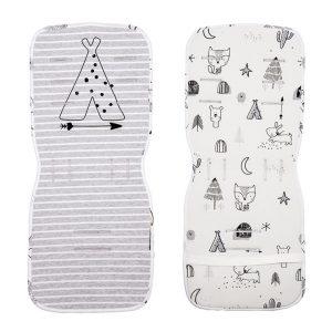 X-treme Baby Στρωματάκι καροτσιού Indian Grey 35Χ83 cm