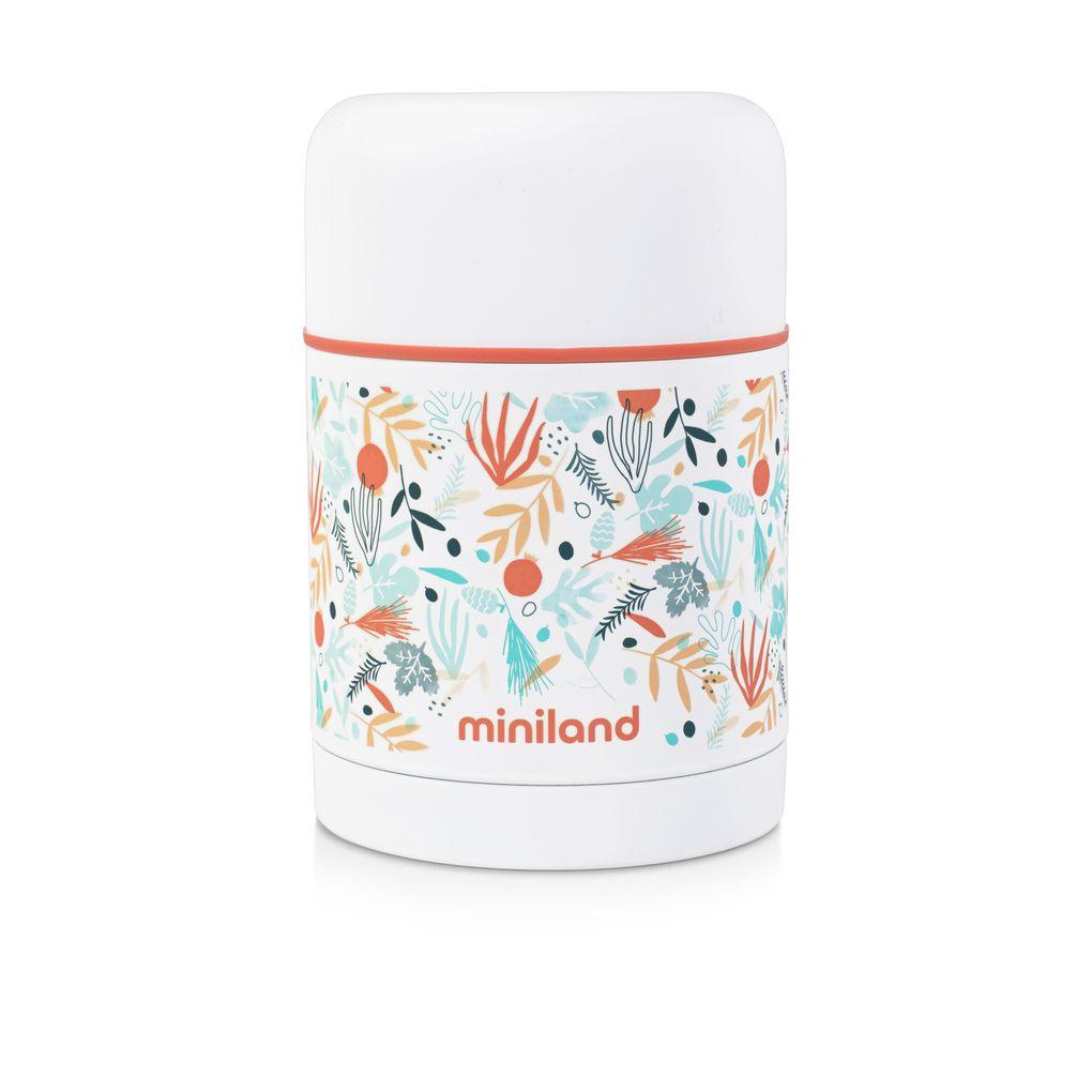 Miniland Θερμός για φαγητά 600ml Mediterranean