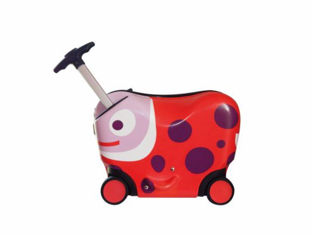 Oops Βαλίτσα Ride-On Trolley s Ladybug 2-4 Ετών (40x30x20εκ.)