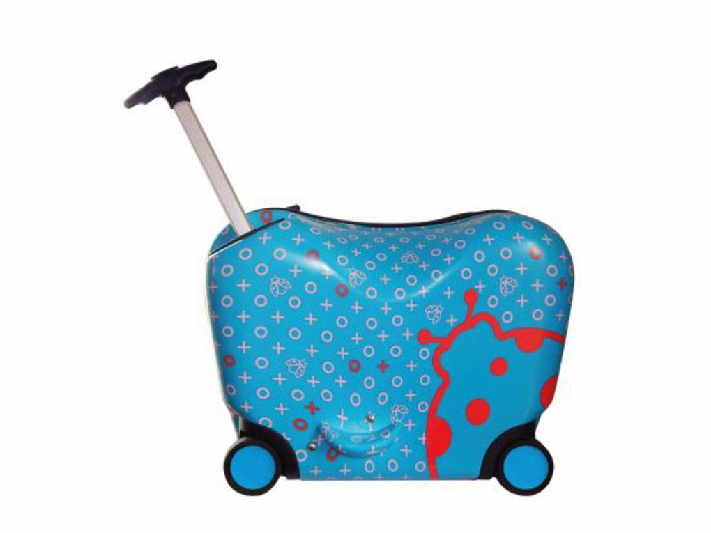 Oops Βαλίτσα Ride-On Trolley m Ladybug 5-7 Ετών (48x30x44εκ.)
