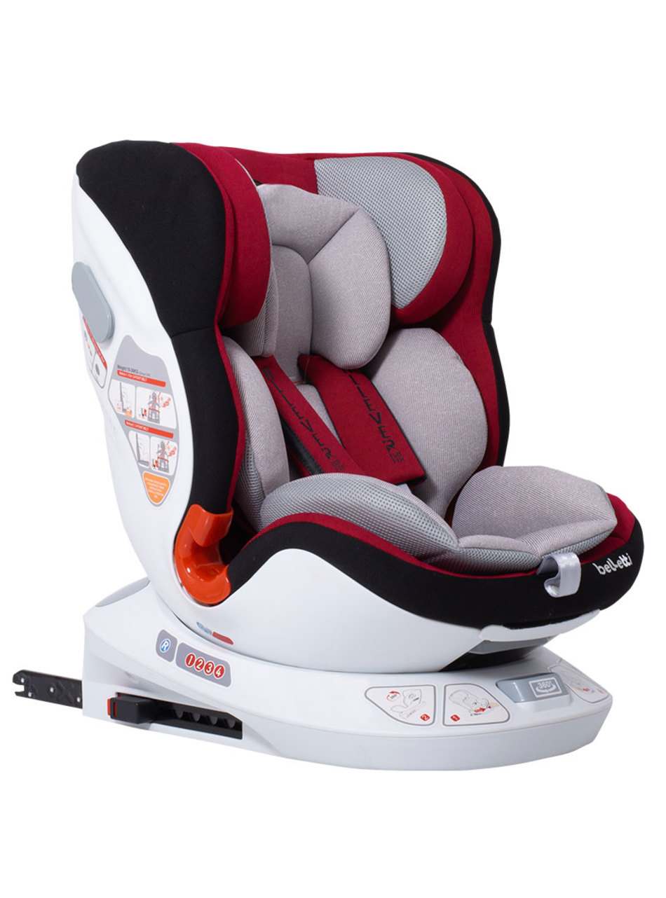 Belletti Κάθισμα Αυτοκινήτου Allever Isofix Lava Red -Ομ.0+/1-2-3