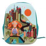 Τσάντα πλάτης Happy BackPack City