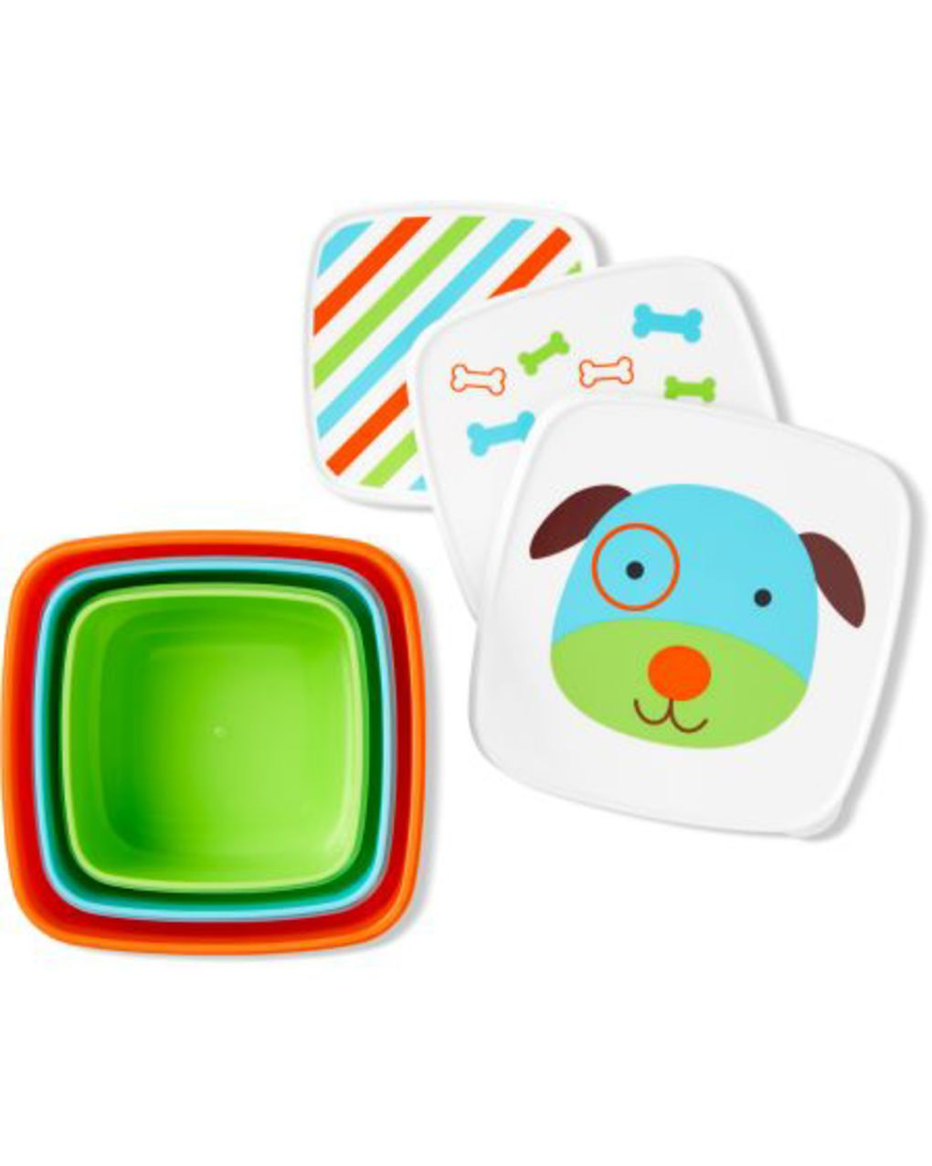 Skip Hop Σετ Δοχείων Φαγητού 3σε1 Σκυλάκι