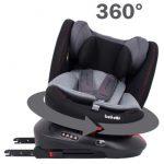 Κάθισμα αυτοκινήτου Belletti Twister Isofix Slate grey-Oμ.0+/1-2-3