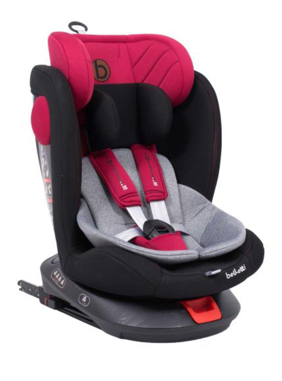 Belletti Κάθισμα αυτοκινήτου Twister Isofix Red Jam Ομ.0+/1-2-3