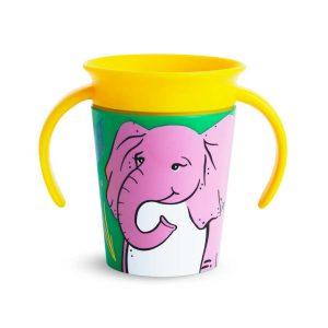 Εκπαιδευτικό ποτήρι Miracle 177 ml - Ελέφαντας