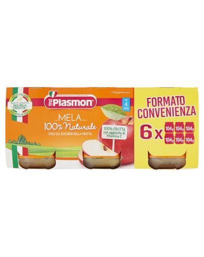 Plasmon - Omogeneizzato Mela  6X104G