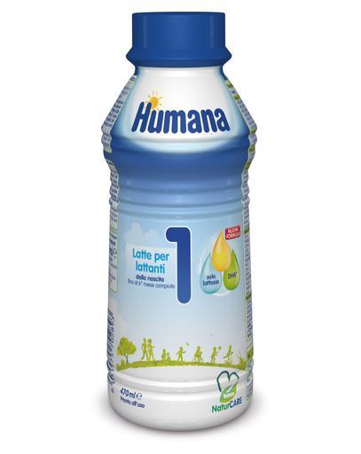 Humana - Latte Humana 1 Liquido 470Ml