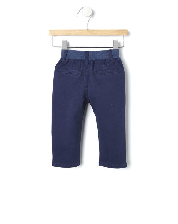 Pantaloni blu scuro con coulisse - Prénatal