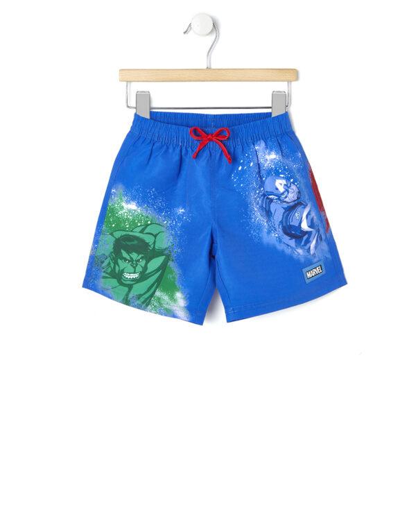 Boxer mare blu con Avengers - Prénatal