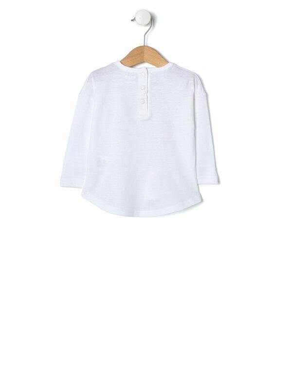 T-shirt con stampa confezioni di latte - Prénatal
