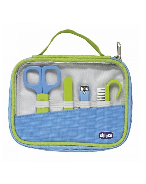Set Igiene Happy Hands - Azzurro - Chicco