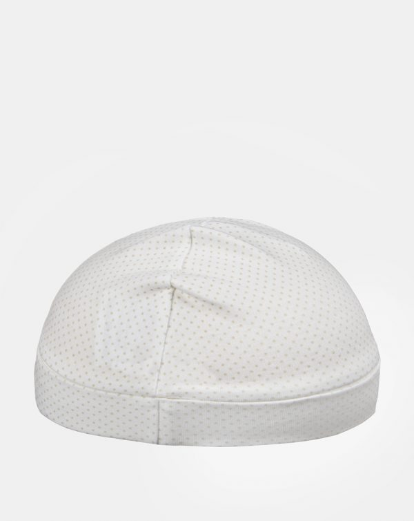 Cappello interlock unisex pois - Prénatal