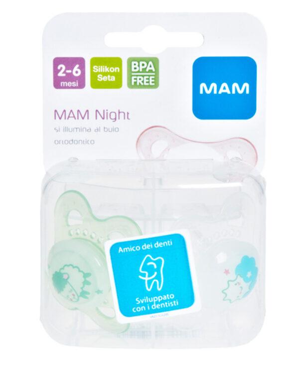 Succhietto 2-6 mesi Original Night - Mam