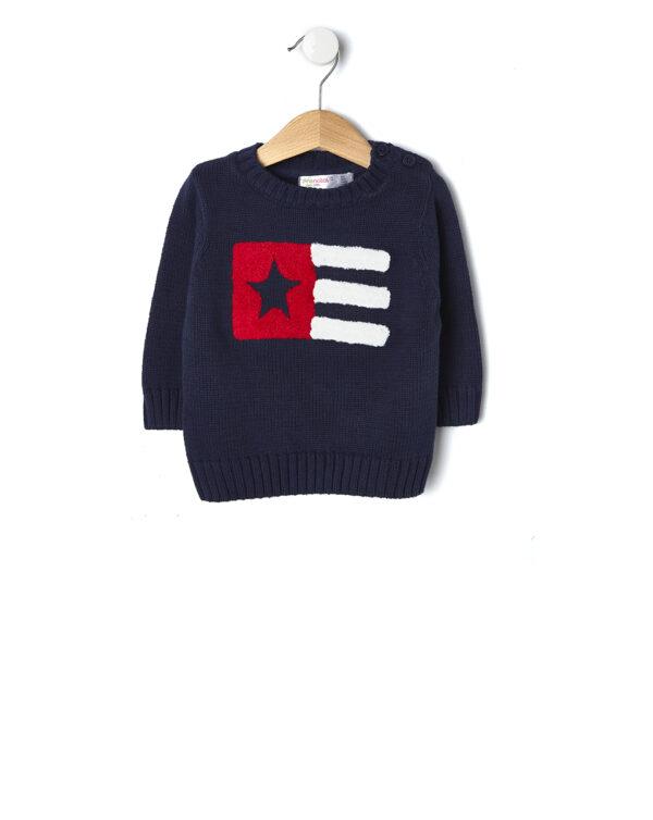 Maglia in tricot con bandiera - Prénatal