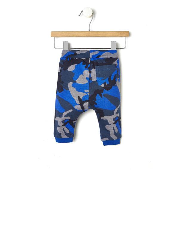 Pantalone basico con fantasia mimetica - Prénatal