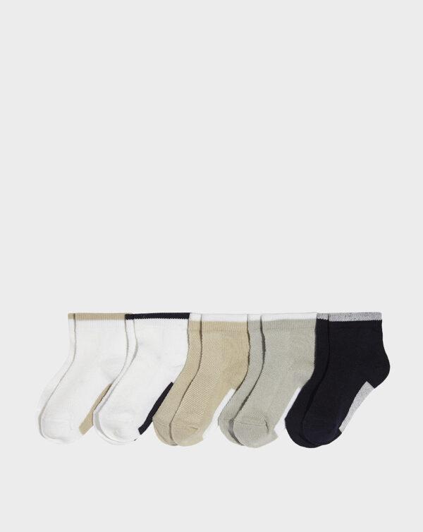 Pack 5 paia di calze corte bimbo multicolor - Prénatal